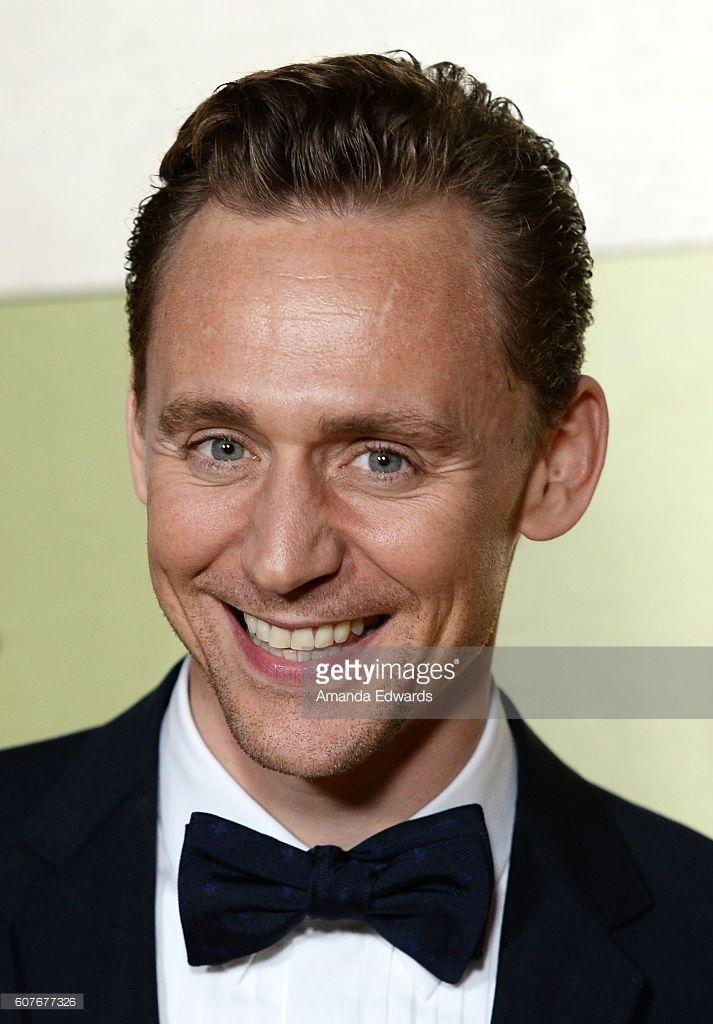 Actor Tom Hiddleston arrives at the AMC Networks' 68th Primetime Emmy Awards…