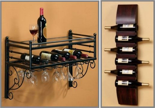 Wooden wall-mounted wine racks are ideal in creating an earthy look. Metal wine racks on the other hand create a modern look to your Texas wine cellar. Read more at: http://www.winecellarspec.com/wine-storage-ideas-for-small-spaces/.