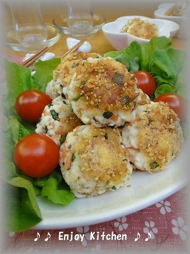 お弁当にも最適】鮭フレークとチーズのはんぺん焼き by Enjoy Kitchen ...