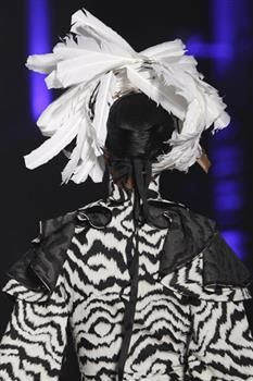 Hat (8b) by Prudence Millinery for Vivienne Westwood Gold Label Autumn Winter 2014 2015 http://viviennewestwood.prudencemillinery.com