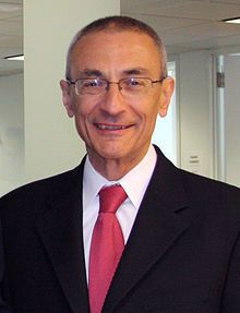 John Podesta Chairman of the 2016 Hillary Clinton presidential campaign.[1] He previously served as Chief of Staff to President Bill Clinton and Counselor to President Barack Obama.[2]