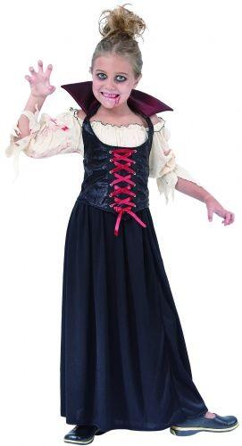 Verkleedkostuum bebloede vampier voor meisjes Halloween kleding