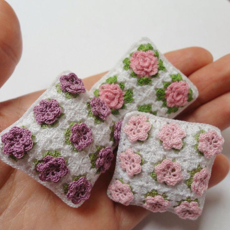 Mas diseños para mis cojines miniatura