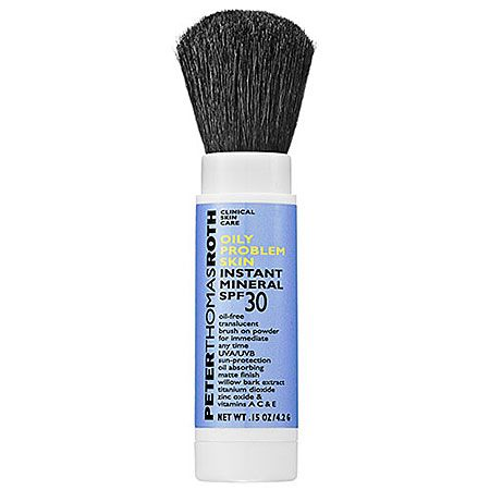 If you live in the South, like me, then this is a must have!  I literally wear this everyday.  It goes over my make-up so well, and also great on my arms and neck/chest.  Since it's always so humid down here in the summer I opt for this one for oily skin.  It works so well, and helps keep a damper on oil and keeps me looking matte-ish.