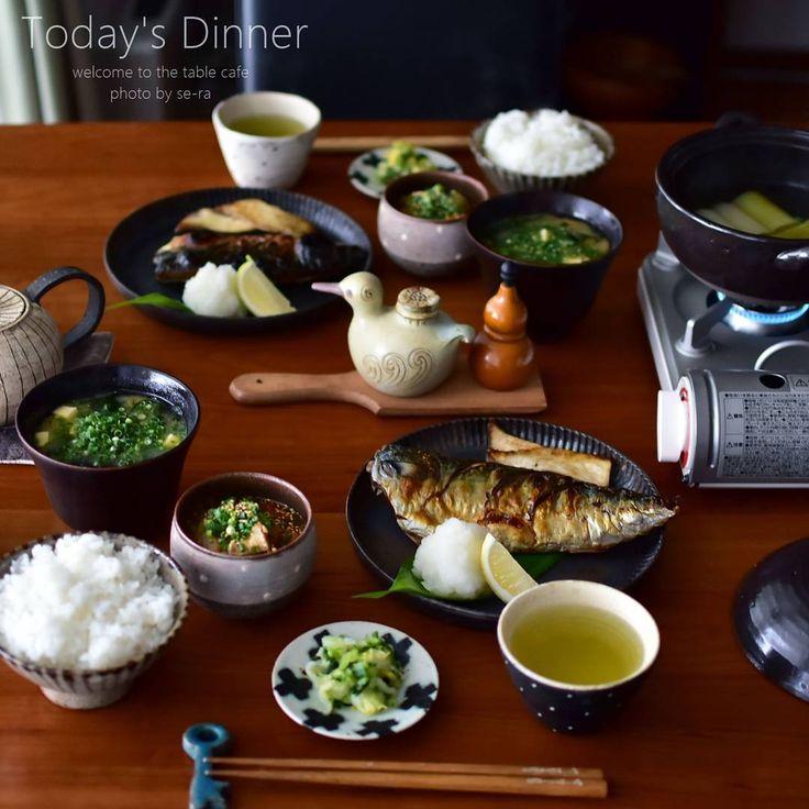 * 11/27 * + . . 今日は塩鯖定食。 ご飯とお味噌汁はおかわり自由です。 ・ ・ ・ #塩鯖定食 #葱のとろとろ煮 #塩鯖 #夜ごはん #夕飯 #おうちごはん #美味しいって言ってもらえるとまた頑張れる