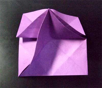 ハート 折り紙:立体 折り紙 簡単-jp.pinterest.com