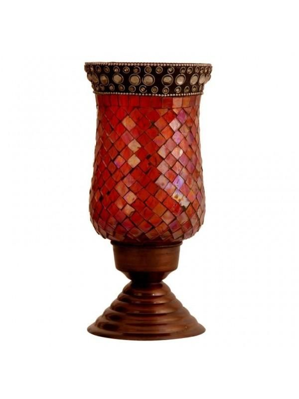 The combination of pink and copper gives this stand a royal appeal - cooliyo.com