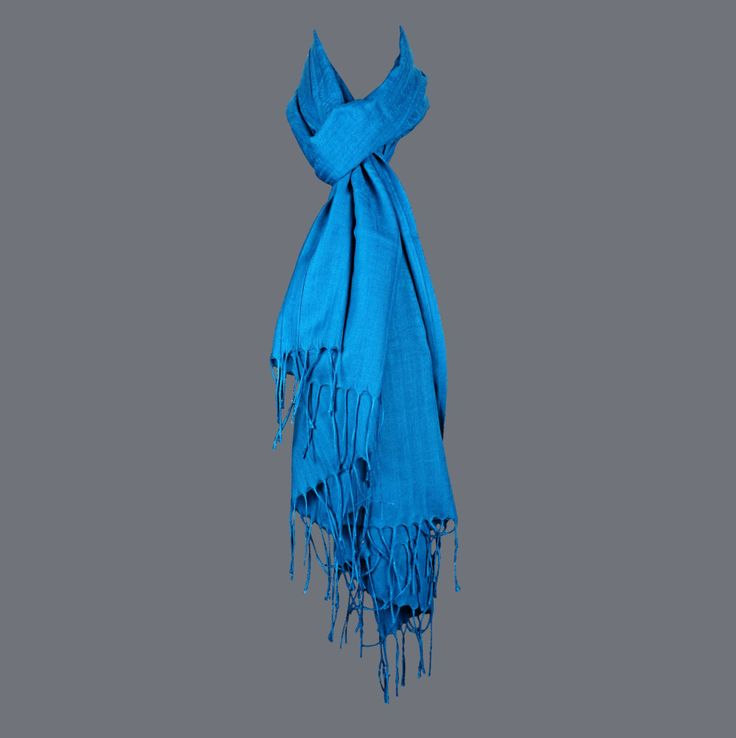 Featuring this beautiful Blue Color Wool Stole in our wide range of Stoles. Grab yourself one Now!