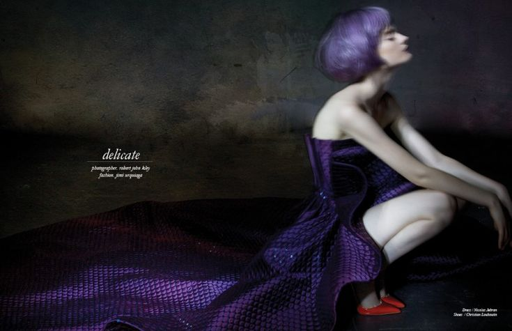 DELICATE - Fashion Editorial by Robert John Kley @schonmagazine