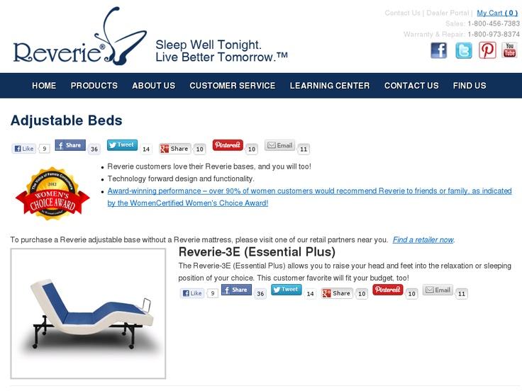 59 Best Images About Adjustable Beds Mattresses On Pinterest