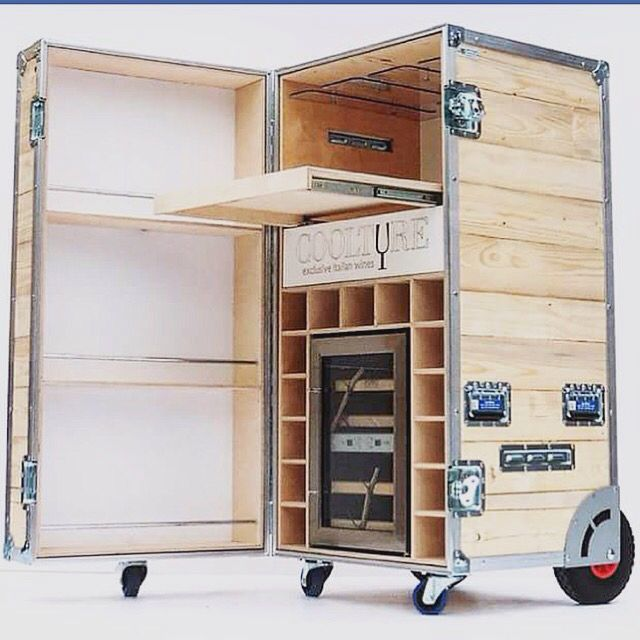 Wine case. Flightcase. Trasporto vini. Frigorifero. Roadcase. Doghe. Made in ita…
