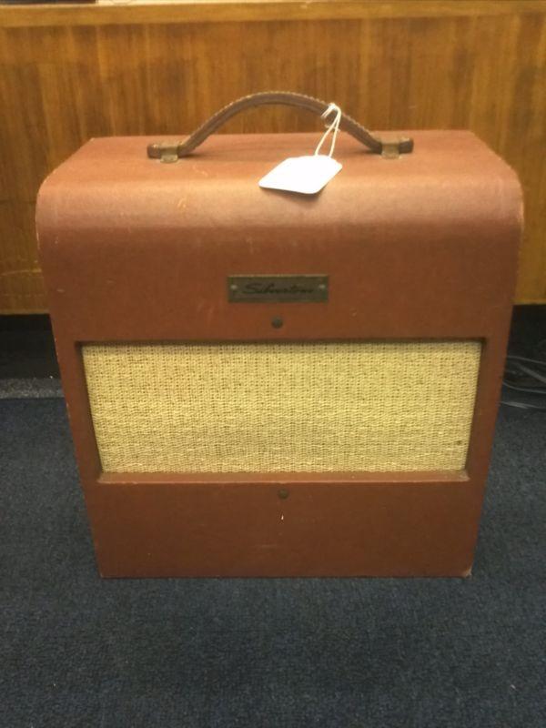 1950 39 s silvertone 1430 tube combo amplifier vintage electric guitar amp 1x8 overdrive that. Black Bedroom Furniture Sets. Home Design Ideas