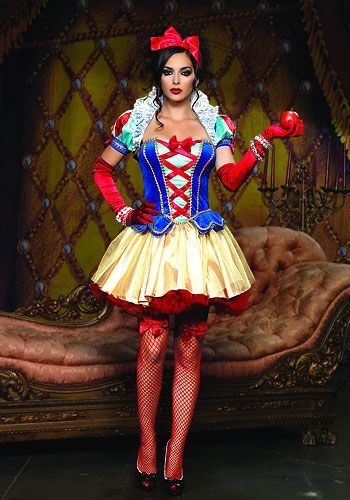 snow white for halloween. because a girl will never outgrow the Disney princess' no matter how old she gets