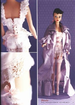 Mimin Dolls: roupa para barbie - gratis Schnittmuster - free Pattern