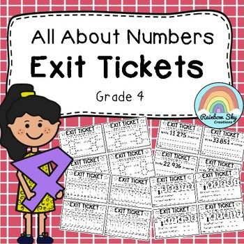 This pack includes 36 different exit tickets to assess your students understanding of number and place value as expected in the Year 4 Australian Curriculum. These exit tickets encourage students to show their understanding and to assist in obtaining immediate evidence on how well students have grasped each concept.