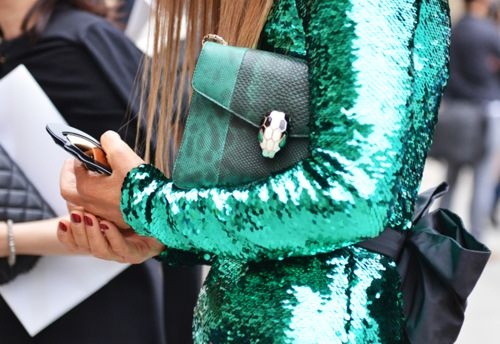 sparcling: Sequins Blazers, Street Style, Saia Mini-Sequins, Sequins Dresses, Clutches Bags, Anna Dello Russo, Sequins Jackets, Mermaids Scale, Anna The Russian