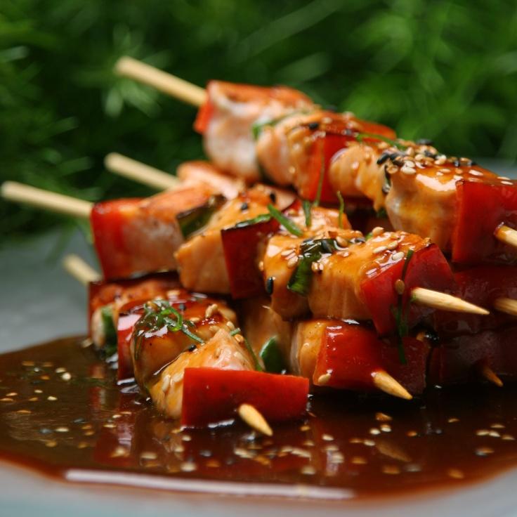 Chicken and Veggies Anticuchos: Peruvian Cuisine, Anticuchos Peruvian, Peruvian Food Fusión, American Recipes, Foods Drinks, Favorite Foods, Peruvian Recipes