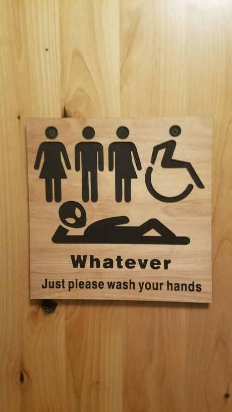 Bathroom sign at a restaurant in Silverton  OR   Meme on Daily LOL Pics. Best 25  Restaurant bathroom ideas on Pinterest   Dine restaurant