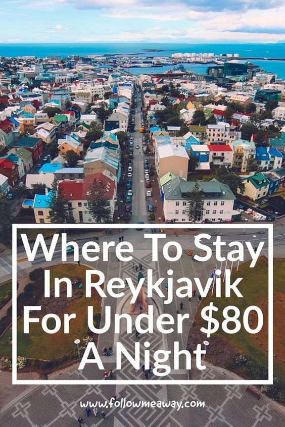 Best Hotels In Reykjavik Under 80 A Night