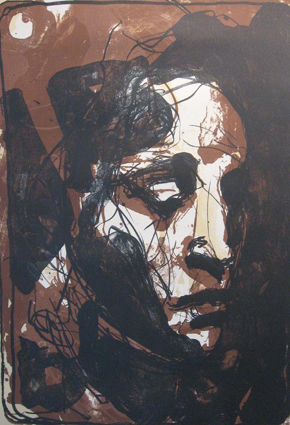 Kuutti Lavonen Mikael 2011 86x61 cm grafiikka litografia