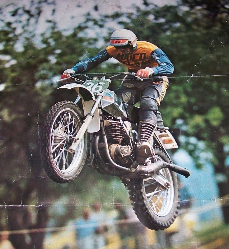 vintage maico race photos