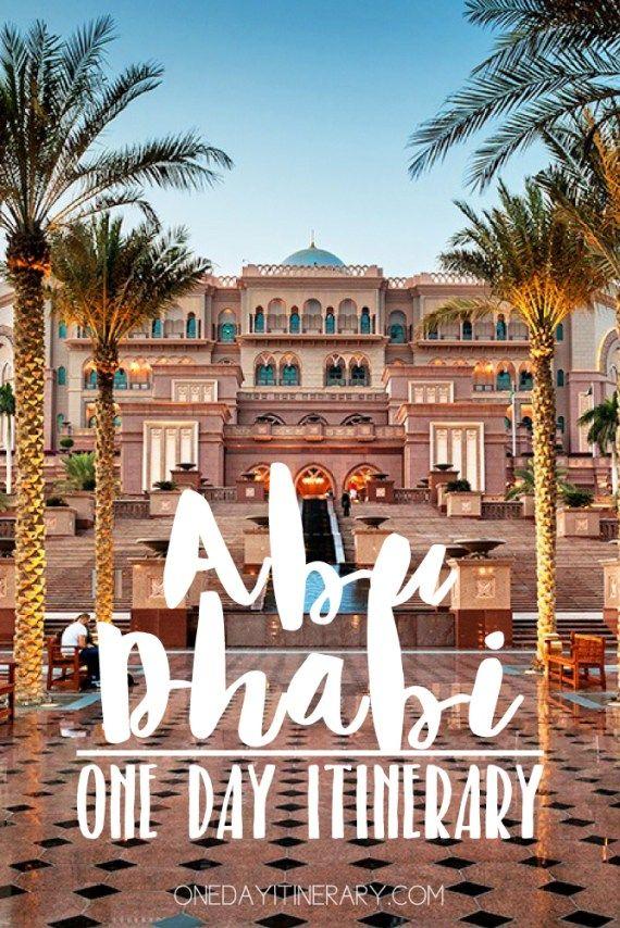 Abu Dhabi, UAE - One day itinerary