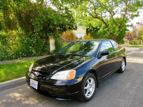 Coupe, 2001 Honda Civic EX Coupe with 2 Door in Sherman Oaks, CA (91423)