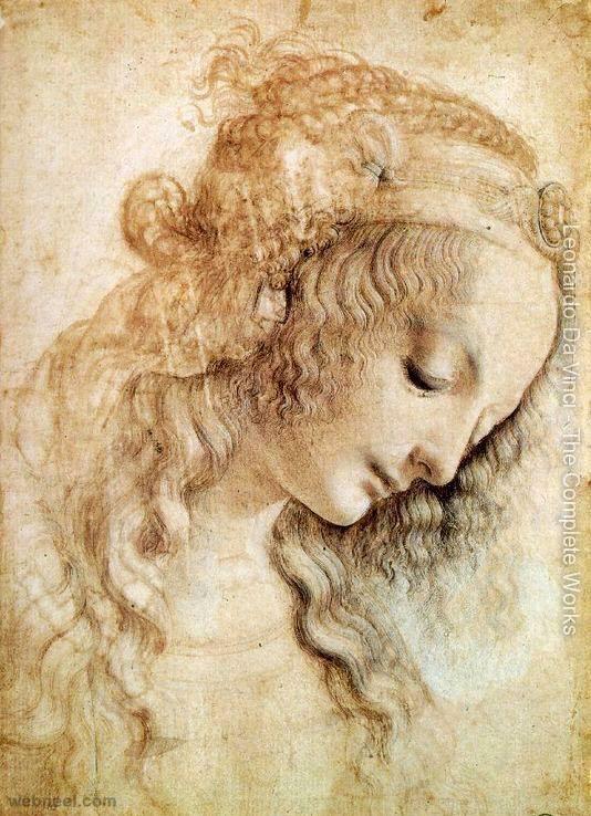 40 Most Famous Leonardo Da Vinci Paintings and Drawings | Read full article: http://webneel.com/leonardo-da-vinci-paintings-drawings | more http://webneel.com/paintings | Follow us www.pinterest.com/webneel