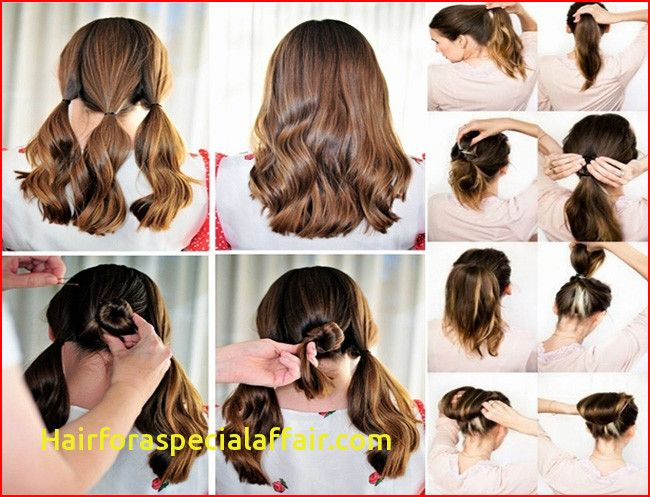 Easy Hairstyles For Short Hair To Do At Home Easy Hairstyles Stylish Hair Easy Hairstyles For Long Hair