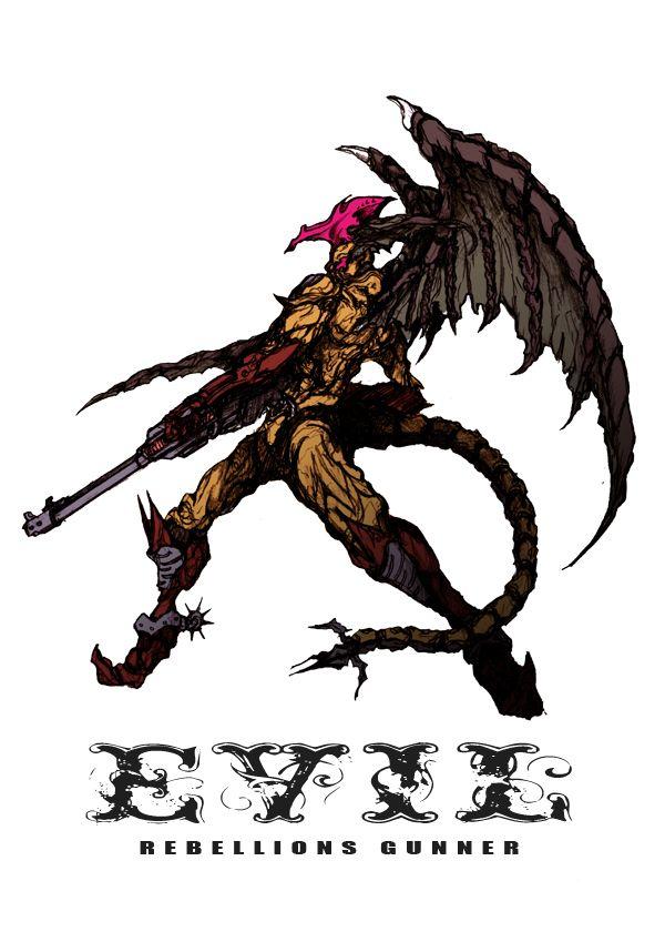 Evil -REBELLIONS GUNNER- Akumaizer 3 พลแม่นปืน ฝ่ายกบฏ illustrated by ZakkiZaki http://www.pixiv.net/member_illust.php?mode=medium&illust_id=48725926