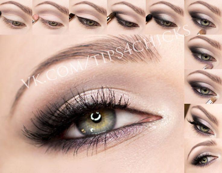 Grey makeup tuto