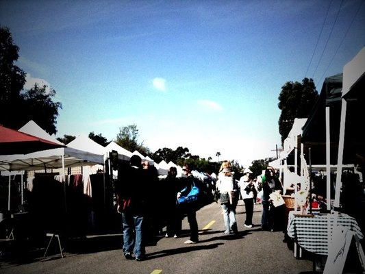 Brentwood Village Farmers Market.  Amazing produce.