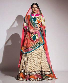 Fahad Hussayn Bridal Lehenga Dress Fahad Hussayn Lehenga Collection 2014 Bridal Wear