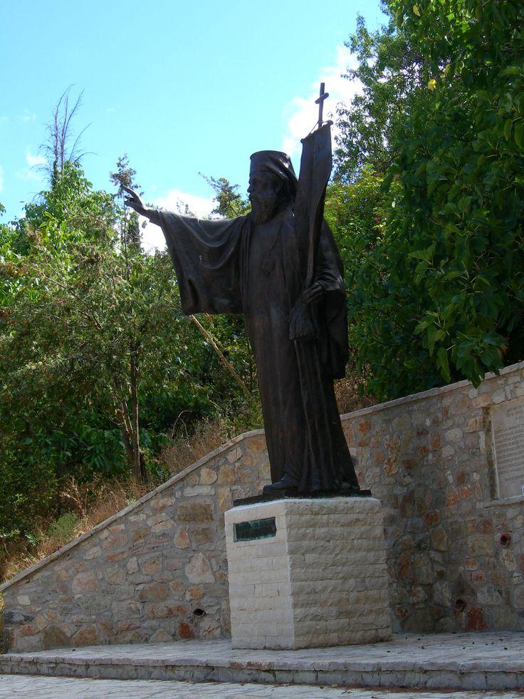 Biskup Jermanos, klasztor św. Ławra (Αγία Λαύρα), Kalawrita