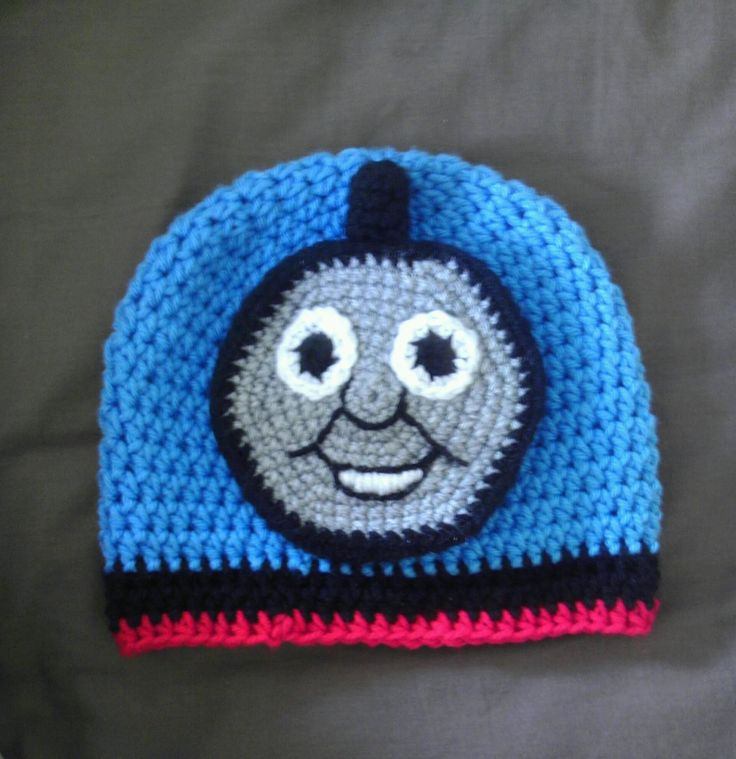 Diy Crochet Thomas The Train Hat Link Http Ravel Me