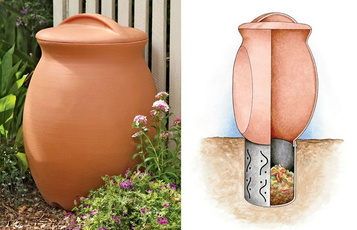 Zero-Waste Solar Food Digesters are superior to typical back yard composters in many ways. Digesters require no regular turning or mixing. All you do is dump your food waste in and forget it. You can even dump in meat, small bones and pet waste. The organic waste simply melts away into the soil hassle free. You may never, ever have to empty it or do anything to maintain it.