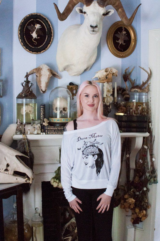 Image of Dura Mater - Off The Shoulder Long Sleeve