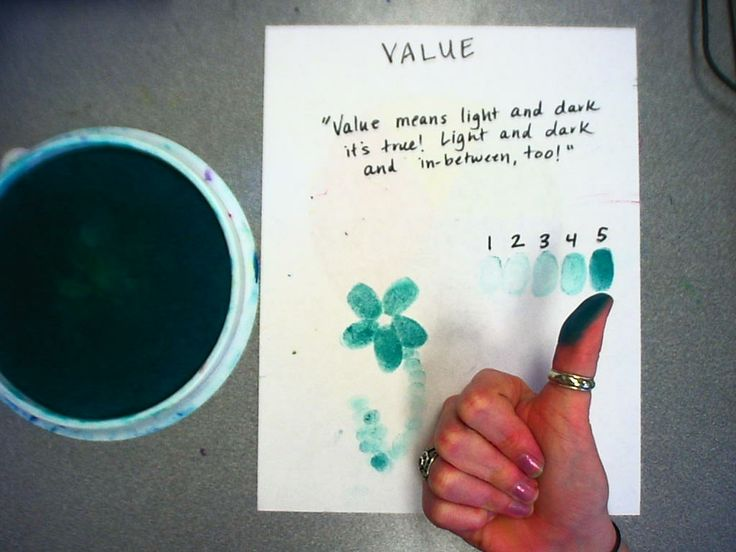 A cute lesson to use to teach the Element of Art, Value