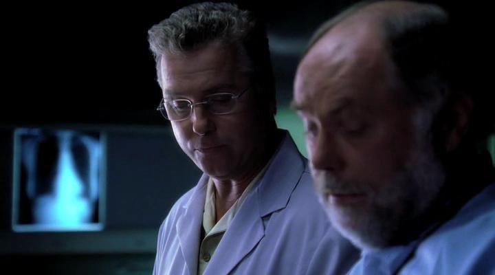 Robert David Hall and William Petersen in CSI: Crime Scene Investigation (2000)