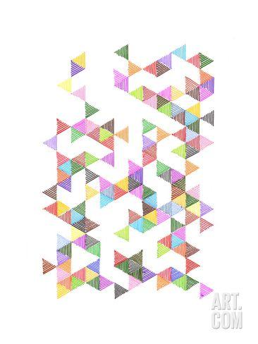 Technicolour Raindrops Giclee Print by Fimbis at Art.com  #fimbis #abstract #geometric #shapes #style #styleblog #fashion #fashionblogger #fashionblog #styleblogger #colourful #designer #blue #purple #orange #minimal #minimalism #inspirational #bright #fblogger #handmade #homedecor #homestyle #wallart #interiors #interiordesign #homedesign