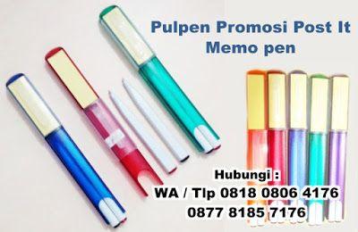 Pen Post It, Pulpen souvenir kembar dua, memo pen, Pen Pulpen Bolpoin Memo Post It  merupakan salah satu souvenir pulpen yang…