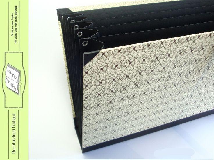 f chermappe din a4 von buchbinderei fr hauf auf handmade art pinterest. Black Bedroom Furniture Sets. Home Design Ideas