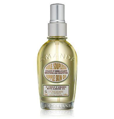 L'Occitane Smoothing & Beautifying Almond Supple Skin Body Oil, 3.4 fl. oz.
