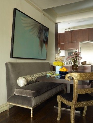 79 Best Images About Banquette Dining Table On Pinterest