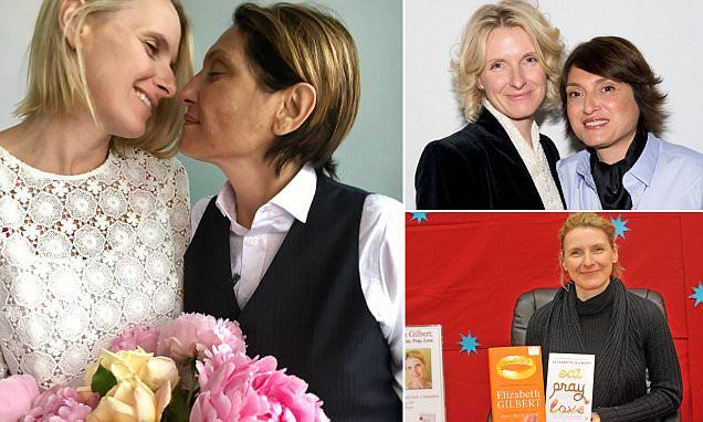 Eat, Pray, Love author and her girlfriend hold a commitment ceremony