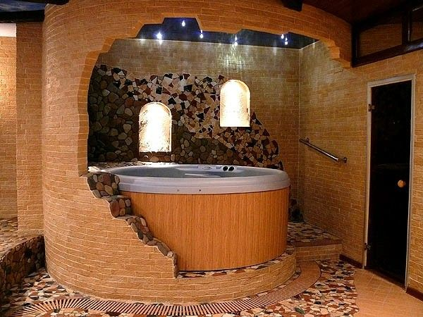 The 25+ best Indoor hot tubs ideas on Pinterest   Dream pools ...