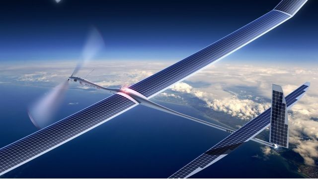 """Report details Google's """"Project Skybender,"""" a 5G Internet drone program. If a report from The Guardian is to be believed, Google has yet another Internet-in-the-sky program in the works. This one is called """"Project Skybender,"""" and it aims to outfit drones with millimeter wave transceivers—radios that work in a slice of the spectrum that could be used in next-generation """"5G"""" networks."""