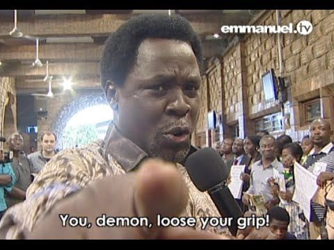 T.B. JOSHUA: Heavily Anointed Prayer For Viewers!