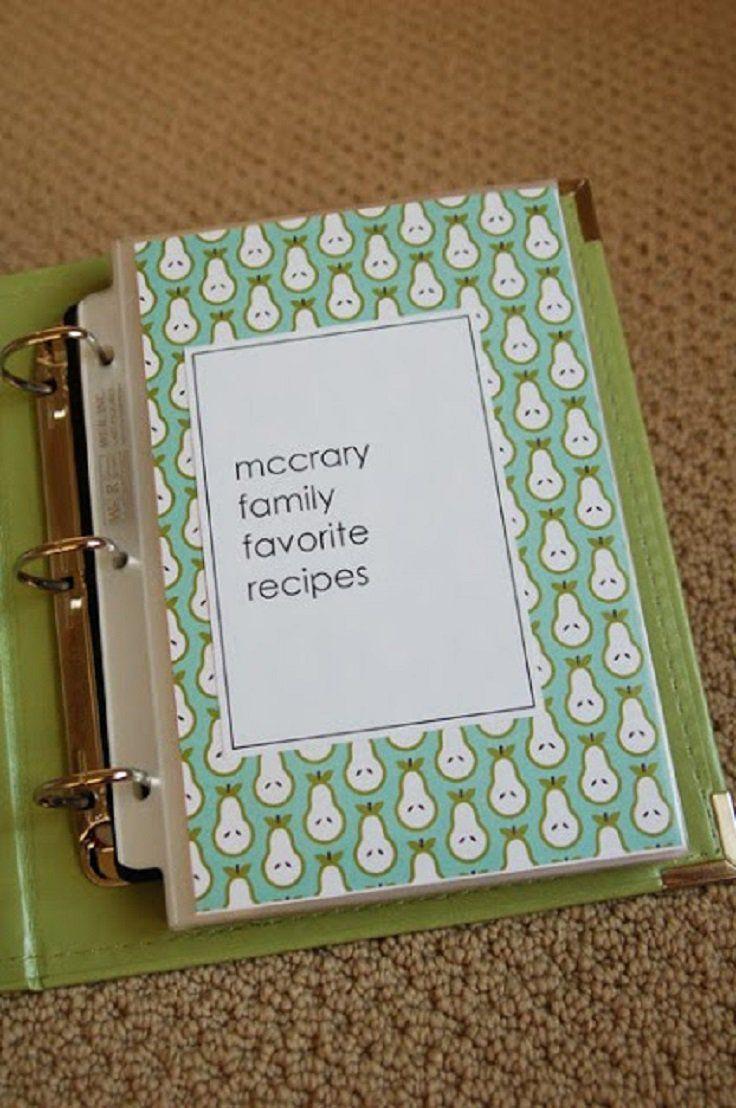 Mejores 73 imágenes de Recipe binder DIY en Pinterest | Recetario ...