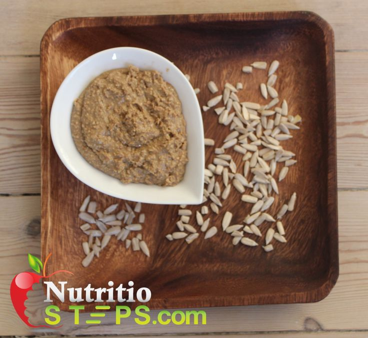 HEALTHY ROASTED HOMEMADE SUNFLOWER SEED BUTTER